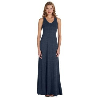 Racerback Maxi Dress Eco True Navy