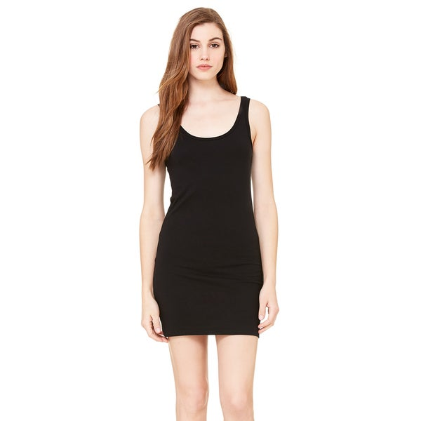 Jersey Women's Black Tank Dress