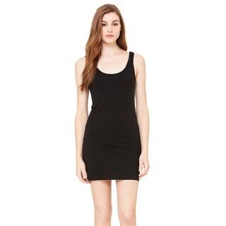 Jersey Women's Black Tank Dress