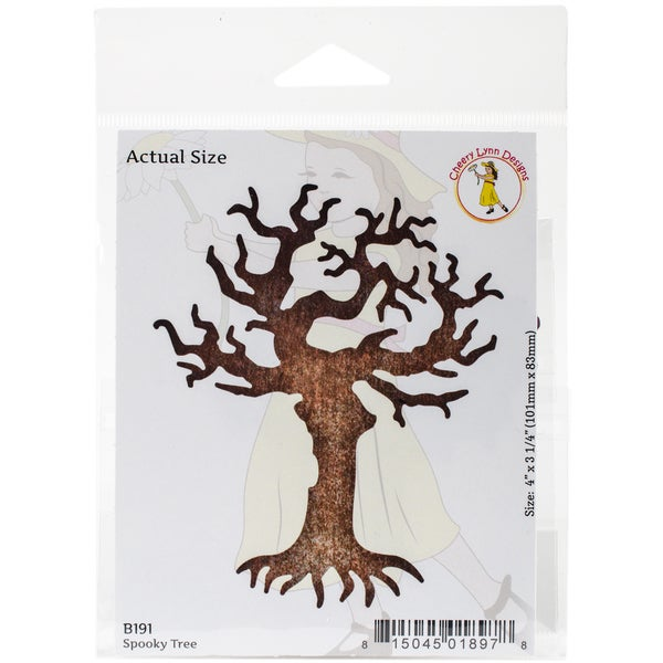 "Cheery Lynn Designs Die Spooky Tree, 4""X3.25"""