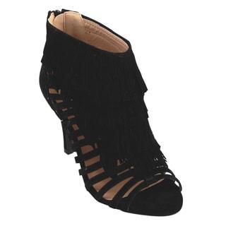 Jacobies Women's Faux Leather Dressy Heels