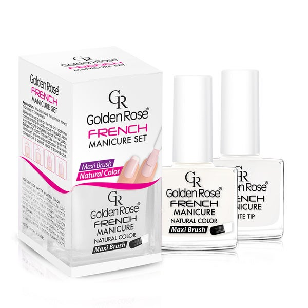 Golden Rose French Manicure Set