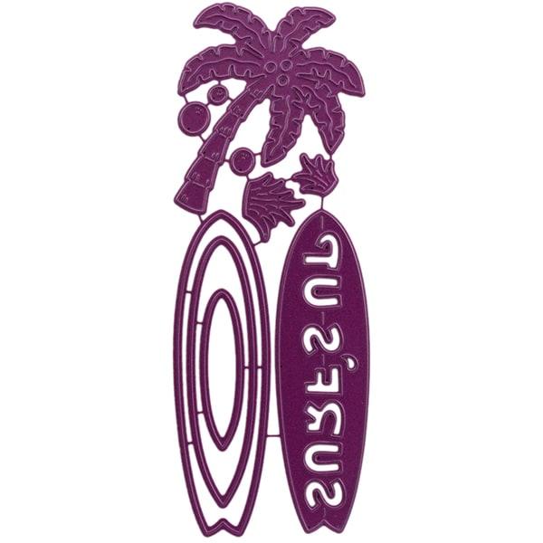 "Cheery Lynn Designs Die Surf's Up, 2.375""X3"""