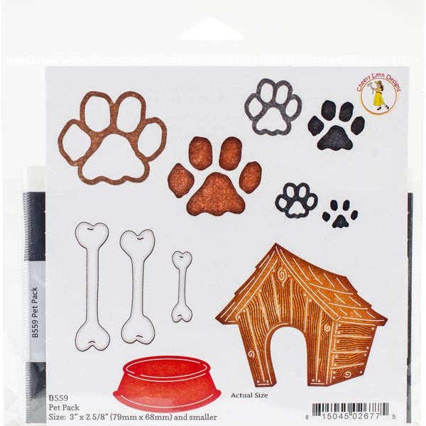 "Cheery Lynn Designs Die Pet Pack, 3""X2.625"""