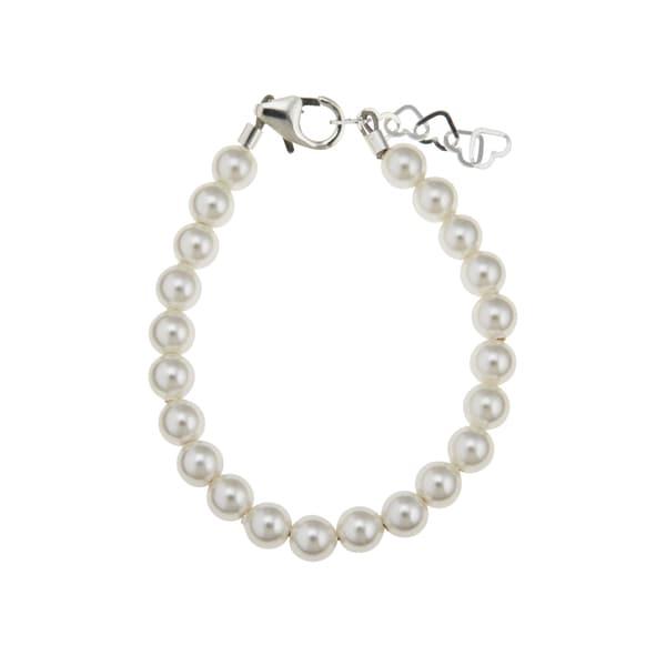 Swarovski White Simulated Pearls Bracelet