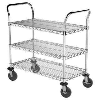 Akro-Mils Wire 18-inch x 36-inch Shelf Cart