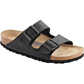 Birkenstock Unisex Arizona Black Soft Footbed Sandal