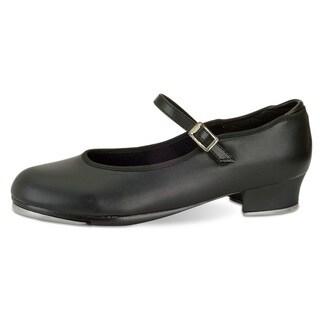 Danshuz Girl's Value Strap Tap Shoes