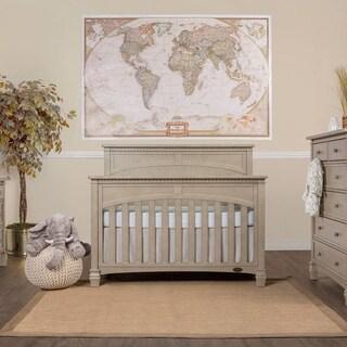 Evolur Santa Fe Grey Wood Five-in-one Convertible Crib