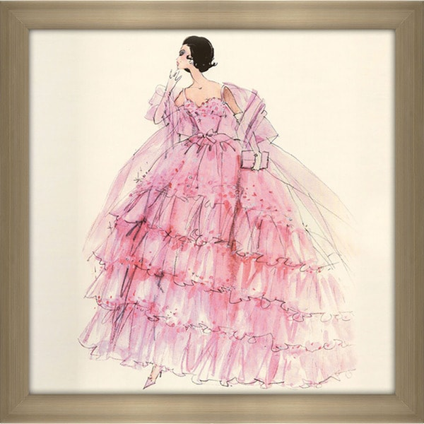 Robert Best 'In the Pink Barbie Doll 2001' Framed Fashion Wall Decor