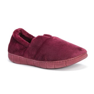 Muk Luks Women's Red Maxine Slippers