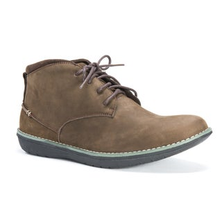 Muk Luks Men's Charlie Brown Leather and Polyester Shoes
