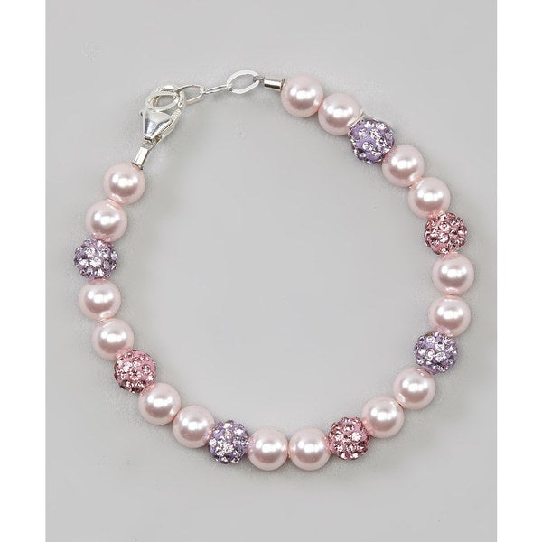 Adorable Pink Birthday Girl Bracelet