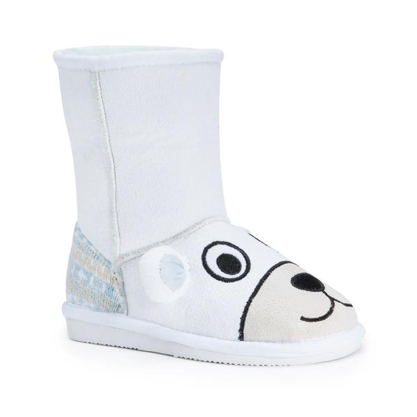 Muk Luks Kids' Snowball Polar Bear Boots