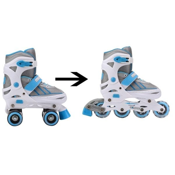 Mongoose 2-in-1 Quad/Inline Skates