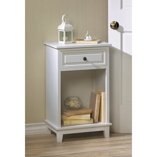 Riverdale White Accent Table