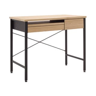 Studio Designs Calico Ashwood Oak MDF/Metal Compact Desk