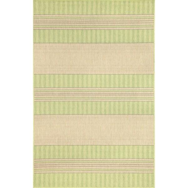 Line Stripes Outdoor Rug (3'3 x 4'11) - 3'3 x 4'11 19493088