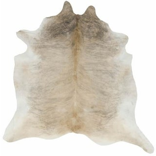 Cowhide Light Natural Skin Rug (6' x 8')
