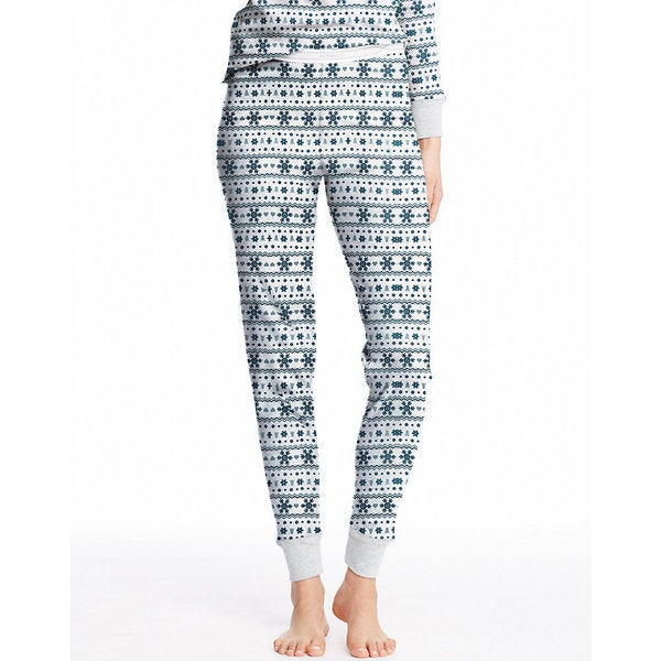 Hanes Women's X-Temp Thermal Printed Fairisle Long Underwear