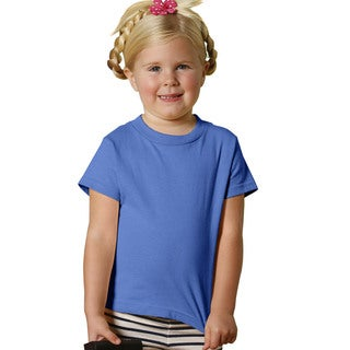 Girls' Iris Cotton 5.5-ounce Jersey Short-sleeved T-shirt