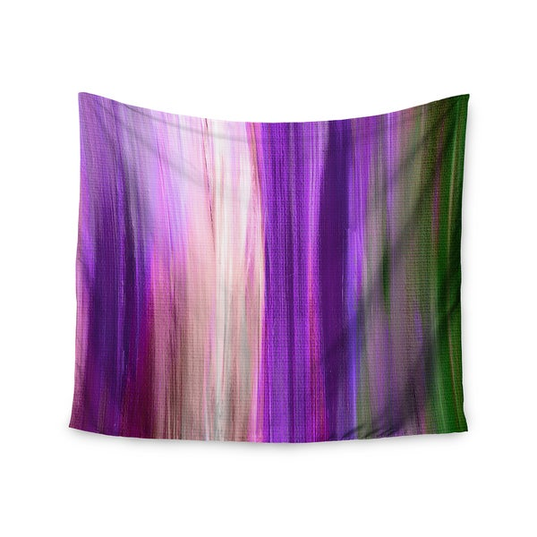 KESS InHouse Ebi Emporium 'Irradiated Multi 2' Purple Lavender 51x60-inch Tapestry