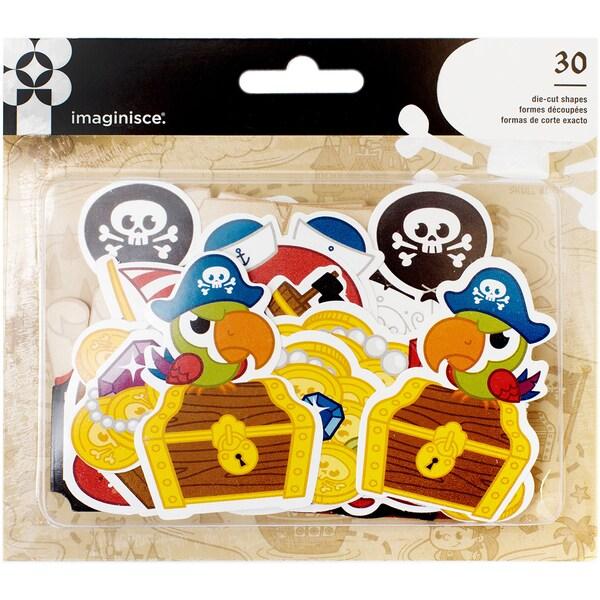 Par-r-rty Me Hearty Ephemera Die-Cuts 30/Pkg Cardstock Pirate