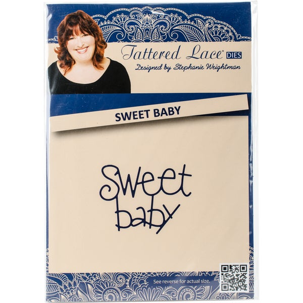 Tattered Lace Metal Die Sweet Baby