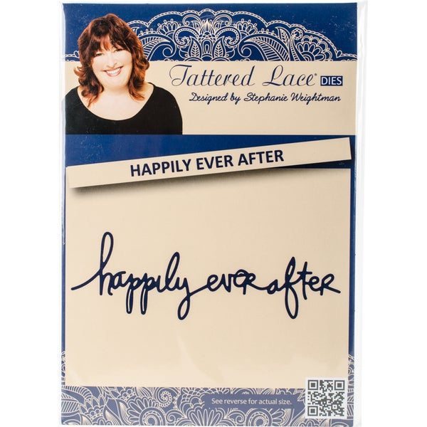 Tattered Lace Metal Die Happily Ever After