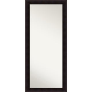 Wall Mirror Choose Your Custom Size - Oversized, Portico Espresso Wood