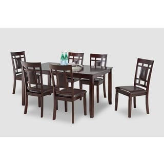 SAKURA 7 PIECE DINING TABLE W/ SIDE CHAIRS
