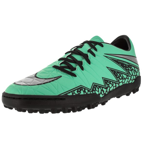 Nike Men's Hypervenom Phelon II Green Synthetic Turf Soccer Shoes