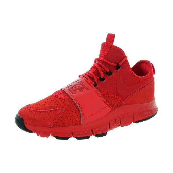 Nike Men's Free Ace Red Suede Training Shoe