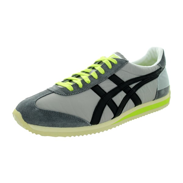 Onitsuka Tiger Unisex California 78 Vin Light Grey/Black Nylon Casual Shoes