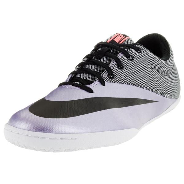 Nike Men's Mercurialx Pro Ic Urban Lilac/Black/Bright Mango Indoor Soccer Shoe