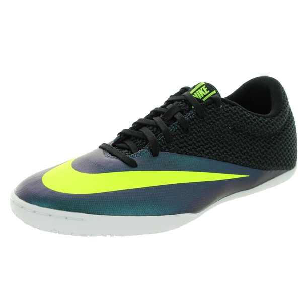 Nike Men's Mercurialx Pro Ic Squadron Blue/Volt/Black Synthetic Indoor Soccer Shoe