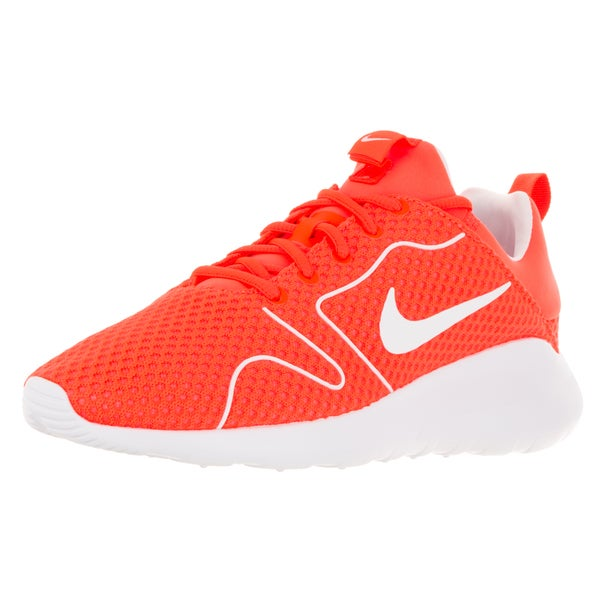 Nike Men's Kaishi 2.0 BR Total Crimson/White Mesh Running Shoes