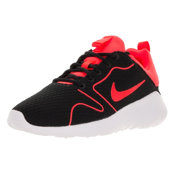 Nike Men's Kaishi 2.0 BR Black/Total Crimson/White Mesh Running Shoe