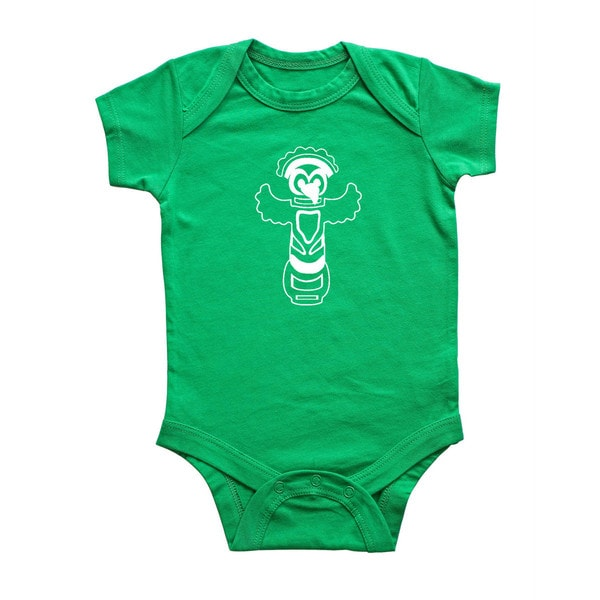 Rocket Bug Totem Pole Baby Bodysuit