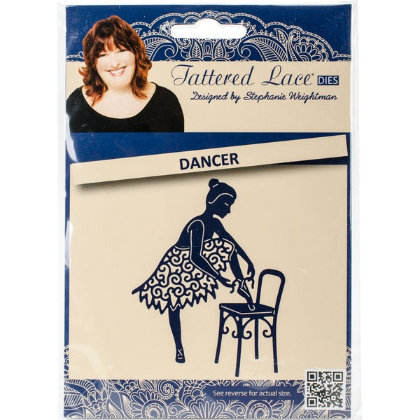Tattered Lace Metal Die Dancer