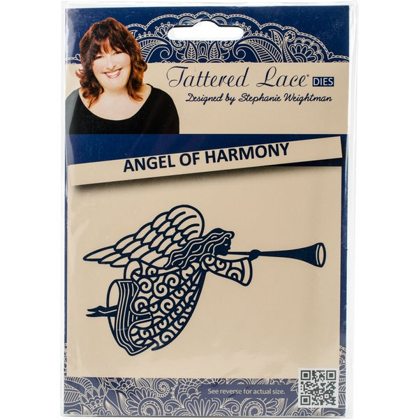 Tattered Lace Metal Die Angel Of Harmony