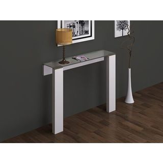 Jane Glossy MDF/Stainless Steel Console