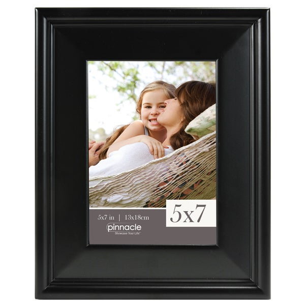 Pinnacle Traditional Black Wooden Frame