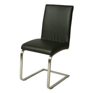 Monaco Black Side Chair (Set of 2)