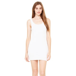 Jersey Women's White Tank Dress