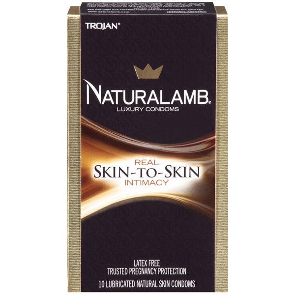 Trojan Naturalamb Lubricated Luxury Condoms