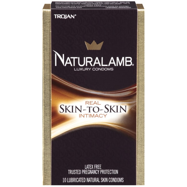 Trojan Naturalamb Lubricated Luxury Condoms 19500563
