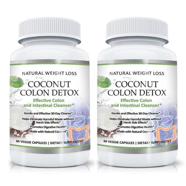 Gentle Coconut Colon Detox Cleanse (60 Capsules)