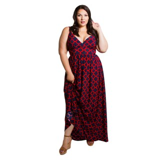 Sealed with a Kiss Women's Plus Size Farrah Maxi Dress