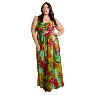 Sealed with a Kiss Women's Plus Size Kathryn Maxi Dress